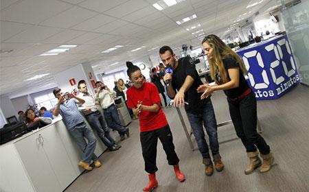 Especial 15 aniversario de 20minutos for Grupo vips oficinas centrales
