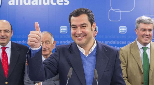 Moreno, un desconocido incluso en el PP